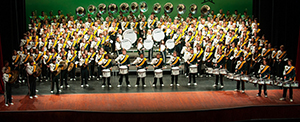 Cal Poly Mustang Band at Bandfest (2013)