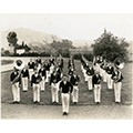 The Cal Poly Band in 1937