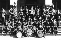 Cal Poly Mustang Band in 1932