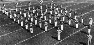 Cal Poly Mustang Band in 1952